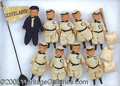 Miscellaneous, RARE EARLY CLEVELAND TEAM CELLULOID BASEBALL TOYS. Remarkable s...