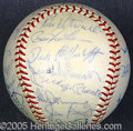 Miscellaneous, 1967 AMERICAN LEAGUE ALL-STAR TEAM BALL. Among the more excitin...