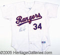 Miscellaneous, RYAN-SIGNED REPLICA JERSEYS. Beautifully crafted jerseys of the...
