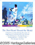 Miscellaneous, AUTOGRAPHED LIMITED EDITION (518/600) ' THE SHOT HEARD ROUND THE...