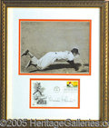 Miscellaneous, COLORFUL BROOKS ROBINSON DISPLAY. Dynamic original wire photo o...