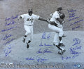 Miscellaneous, 1969 METS-SIGNED PHOTO PRINT. The Amazin' Mets were re-united to...