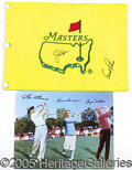 Miscellaneous, GOLFING AUTOGRAPHS. Every PGA enthusiast should have such a dis...