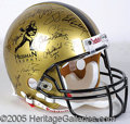 Miscellaneous, HEISMAN TROPHY-SIGNED HELMET. The greates accolade in collegiate...