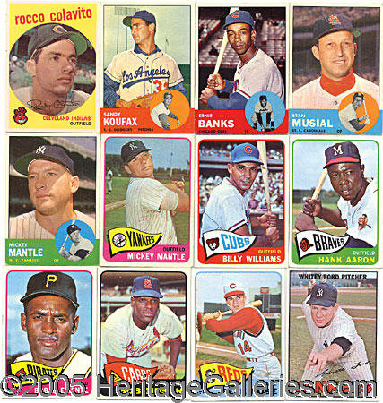 Assorted Baseball Card Collection This Collection Is