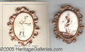 Miscellaneous, TWO EXCEPTIONAL EARLY PM1 PINS. These highlycollectable pins ar...