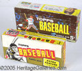 Miscellaneous, TOPPS BASEBALL RETAIL BOXES – 1961 AND '63. As a pair, we prese...