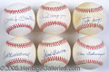 Miscellaneous, SINGLE-SIGNED BALL COLLECTION. Needing little qualification, th...