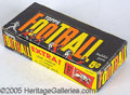 Miscellaneous, 1961 TOPPS FOOTBALL BOX/WRAPPER. Unwittingly, a few retailers n...