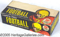 Miscellaneous, 1958 TOPPS FOOTBALL BOX/WRAPPER. This one is exceptional. The p...