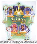 "Miscellaneous, 3 COPIES OF THE SAME GREAT SIGNED LITHOGRAPH. Titled ""The Kings..."