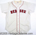 Miscellaneous, TED WILLIAMS 1980 INSTRUCTOR'S JERSEY. For several years follow...