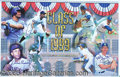 "Miscellaneous, 4 COPIES OF LARGE, COLORFUL, SIGNED ""CLASS OF 99"" HOF PRINT. Te..."
