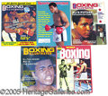 Miscellaneous, EXTENSIVE BOXING MAGAZINE COLLECTION. A varied selection from t...