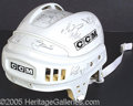 Miscellaneous, HOCKEY HELMET SIGNED BY THE STANLEY CUP CHAMPIONSHIP PITTSBURGH ...
