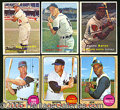 Miscellaneous, 1957 AND 1968 TOPPS BASEBALL COLLECTION. For the card collector...