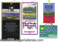Miscellaneous, FOUR SIGNIFICANT TIGER WOODS TOURNAMENT TICKETS. All from tourn...