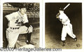Miscellaneous, 1956 INDIANAPOLIS INDIANS' TEAM-ISSUED PHOTOS. Nineteen (19) 8x...