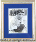 Miscellaneous, SCARCE EARLY JOE DIMAGGIO SIGNED PHOTO. Pre-WWII glossy beauty....