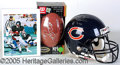 Miscellaneous, PAYTON AUTOGRAPH DISPLAYS. Now, unfortunately, the most hotly p...