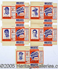 Advertising, 1951 WHEATIES BOXES. About ten years ago, a small cache of virgi...