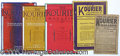 Books:Periodicals, THE KOURIER GROUP LOT. This is a lot of 12 copies of the Klan's ...