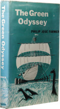 Books:Non-fiction, Philip José Farmer: The Green Odyssey. (New York: Ballantine Books, 1957), first edition, 152 pages, tan cloth with gree...