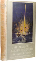 Books:First Editions, Arthur Train: The Man Who Rocked Earth. (New York: Doubleday, Page & Company, 1915), first edition, 228 pages, color fro...