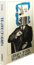 Books:First Editions, Ursula K. Le Guin: The Lathe of Heaven. (New York: CharlesScribner's Sons, 1971), first edition, code A-10.71 (C) on co...
