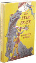 "Books:First Editions, Robert A. Heinlein: The Star Beast. (New York: Scribner'sSons, 1954), first edition, first printing (the letter ""A"" and..."