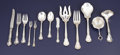 Silver Flatware, American:Gorham, An American Silver Flatware Set. Gorham Manufacturing Co.,Providence, Rhode Island. Circa 1950. Silver and stainless stee...(Total: 143 )