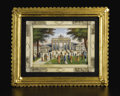 Ceramics & Porcelain, Continental:Antique  (Pre 1900), A Continental Miniature Painting on Ivory. Unknown maker,Continental. Circa 1830-50. Painting on ivory. Signed: J.Gits...
