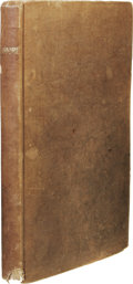 Books:First Editions, Mary Shelley: Lodore First American Edition. (New York:Wallis & Newell, 1835), first American edition, 228 pages, o...