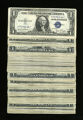 Small Size:Group Lots, Fr. 1613w $1 1935D Silver Certificates. 144 Examples. Very Good or Better.. ... (Total: 144 notes)