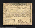 Colonial Notes:Rhode Island, July 2, 1780, $2, Rhode Island, RI-283, Choice About ...