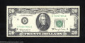 Error Notes:Ink Smears, 1963-A $20 Federal Reserve Note, Fr-2065-D, Gem Crisp ...