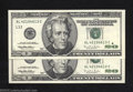 Error Notes:Ink Smears, Two Consecutive 1996 $20 Federal Reserve Notes, Fr-208-L, Gem ...(2 notes)