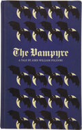 Books:First Editions, John William Polidori. The Vampyr; A Tale....