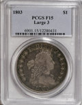 Early Dollars, 1803 $1 Large 3 Fine 15 PCGS....