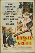 "Movie Posters:Animated, Hansel and Gretel (RKO, 1954). One Sheet (27"" X 41""). Animated...."