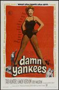 "Movie Posters:Musical, Damn Yankees (Warner Brothers, 1958). One Sheet (27"" X 41""). Musical...."