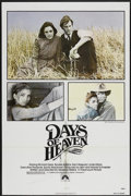 "Movie Posters:Drama, Days of Heaven (Paramount, 1978). One Sheet (27"" X 41""). Drama...."