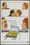 """Movie Posters:Comedy, Critic's Choice (Warner Brothers, 1963). One Sheet (27"""" X 41""""). Comedy...."""