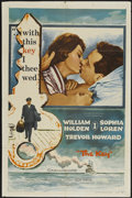 "Movie Posters:Romance, The Key (Columbia, 1958). One Sheet (27"" X 41""). Romance...."