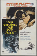 """Movie Posters:Romance, As Young As We Are (Paramount, 1958). One Sheet (27"""" X 41""""). Romance...."""