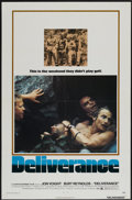 "Movie Posters:Action, Deliverance (Warner Brothers, 1972). One Sheet (27"" X 41"") andLobby Card Set of 8 (11"" X 14""). Action.... (Total: 9 Items)"