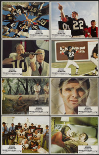 """The Longest Yard (Paramount, 1974). Lobby Card Set of 8 (11"""" X 14""""). Comedy.... (Total: 8 Items)"""