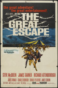"""Movie Posters:War, The Great Escape (United Artists, 1963). One Sheet (27"""" X 41"""").War...."""