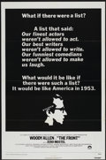 """Movie Posters:Comedy, The Front (Columbia, 1976). One Sheet (27"""" X 41""""). Comedy...."""