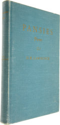 Books:Signed Editions, D.H. Lawrence. Pansies. Poems by D.H. Lawrence. Brooklyn: Press of Theo. Gaus' Sons, Inc., [1929].. ...